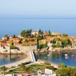 Picture of Sveti Stefan island (Montenegro) - Foto Stock