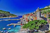 Portovenere colorido, itália — Foto Stock