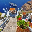 Greek holidays - Santorini — Stock Photo #13376497