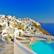 Luxury Greek holidays - Santorini — Stock Photo #13376498