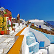 Colorful Greece - Santorini - Stock Photo