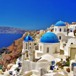 Iconic Greece - Santorini - Stock Photo