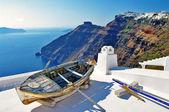 Greek holidays - Santorini — Stock Photo