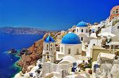 Ikoniska grekland - santorini — Stockfoto