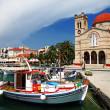 Pictorial idyllic greek islands - Aegina - Stock Photo