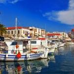 Pictorial idyllic greek islands - Aegina — Stock Photo