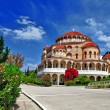 Greece. ortodox church — Stock Photo