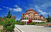 Greece. ortodox church — Stock Photo