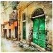 Stock Photo: Old streets