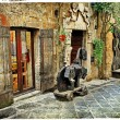 Stock Photo: Medieval towns of Italy