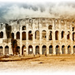 Great Colosseum - artistic retro styled picture - Stock Photo