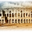 Great Colosseum - artistic retro styled picture — Stock Photo