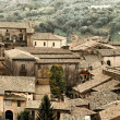 View over Orvieto, a medieval hill town in Umbria, Italy — Stock Photo