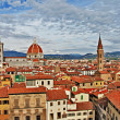Beautiful Florence - city view with Duomo - Stock Photo