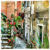 Old streets of Italy — Stock Photo
