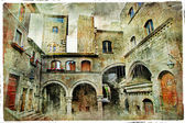 Medieval towns of Italy. Viterbo — Stock Photo