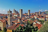 Travel in Italy series - ancient Bergamo, upper town — Stock fotografie