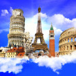 Travel in Europe - Foto Stock