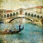 Venice - retro style picture — Stock Photo #18315431