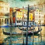 Venice - retro style picture — Stock Photo #18315443