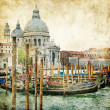 Venice - retro style picture — Stock Photo #18315451