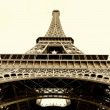 Eiffel tower isolated — Stock Photo #18315509