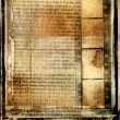 Vintage background - ancient book and page — Stock Photo