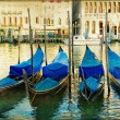 Mystery of Venice - artwork in painting style — Stok fotoğraf