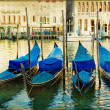 Mystery of Venice - artwork in painting style — ストック写真