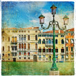 Great Italian landmarks series - Venice artistic picture — Stock Photo #18315789