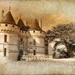 Stock Photo: Castles of France- Chaumont - artistic toned vintage picture