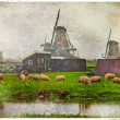 Traditional old Holland - retro picture — Stock Photo