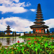 Amazing Balines temples - ulun danu - Stock Photo