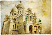 Sacre coeur - artistic Parisian series — Stock Photo