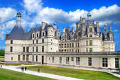 Beautiful Chambord castle -Loire valley — Stock Photo
