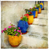 Colors of Greece series — Stock Photo