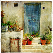 Pictorial Greek villages — Stock Photo