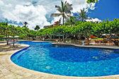Beautiful resort territory — Stock Photo