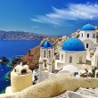 Stock Photo: White-blue Santorini