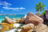 Beautiful Seychelles islands — Stock Photo