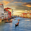 Stock Photo: Sunset in Venice