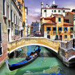 Pictorial Venetian canals — Stock Photo #19145707