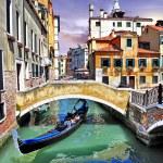 Pictorial Venetian canals — Stock Photo