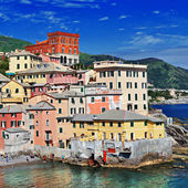 Colorful Italy series - Genova, Liguria — Stock Photo