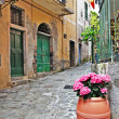 Charming streets of old mediterranean towns — Stock Photo #19223301
