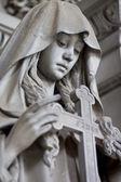 Belle sculture scuri - cimitero monumentale di staglieno, genova, italia. — Foto Stock