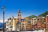 Pictorial Ligurian coast - Camogli, Italy — Stock Photo
