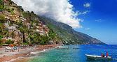 Picturesque Positano coast. Bella Italia series — Stock Photo