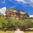 Sygiriya - ancient buddhistic landmark of Sri lanka - Stok fotoğraf