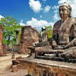 Buddha in Polonnaruwa temple — Stock Photo